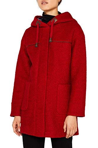 edc by Esprit 099cc1g011 Abrigo, Rojo (Red 630), X-Small para Mujer
