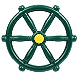 RedSwing Pirate Ship Wheel 2.0, Swingset Steering Wheel Playset Accessories, Playground Accessories for Backyard Outdoor, Green