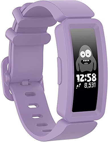 Gransho Correa de Reloj Recambios Correa Relojes Caucho Compatible con Fitbit ACE2 / Inspire/Inspire HR - Silicona Correa Reloj con Hebilla (Pattern 2)