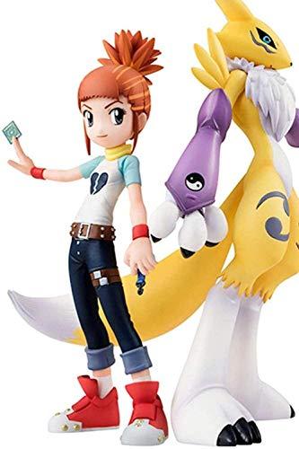 HYCZW Anime Fans Geschenk Figur Skulptur Digimon Abenteuer Makino Ruki Renamon. Boxed. Hohe 15CM