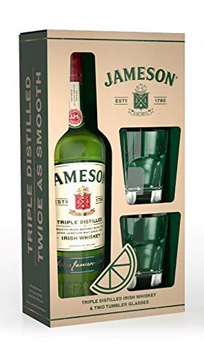 ジェムソン スタンダード 700ml グラス2脚付 [ ウイスキー アイルランド ] [ギフトBox入り]