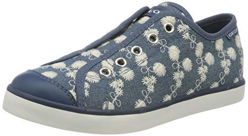 Geox Mädchen JR CIAK Girl C Sneaker, Blau (Avio C4005), 25 EU