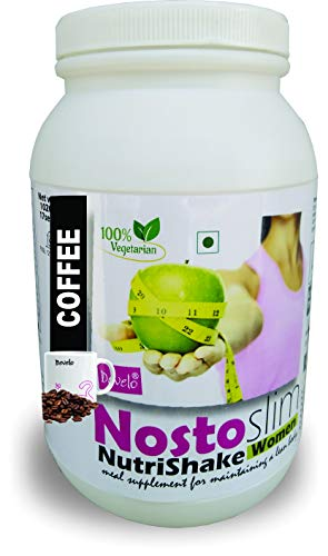 DEVELO NOSTOSLIM PROTEIN SUPPLEMENT POWDER FAT BURNER WEIGHT LOSS SLIMMING PRODUCT FOR WOMEN GIRLS COFFEE]1020G