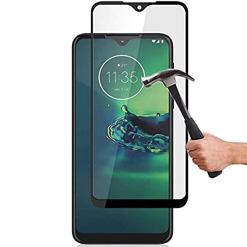 Lapinette Protector de Pantalla Compatible con Motorola Moto G8 Plus Completa - Protector de Pantalla Vidrio Templado Moto G8 Plus Integral - 9H Force Glass - Protectora Completa
