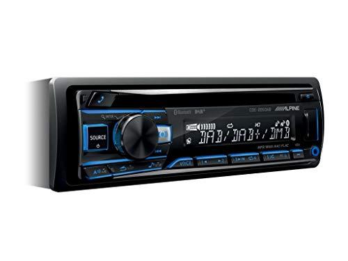 ALPINE CDE-205 DAB CON ANTENNA DAB Sorgente con Lettore CD, DAB+, ingresso USB e Bluetooth