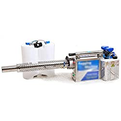 AIYLY 2020 Electric Pulse Jet Thermal Fogger, Long Spray Distance Atomizer Mosquito Killer & Disinfection Sprayer for Garden Weeding and Insecticide and Street Epidemic Prevention,A