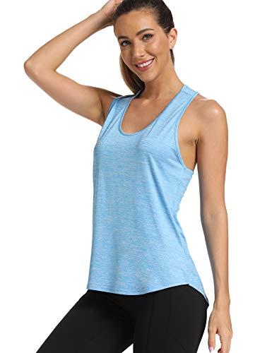 Fashion Shopping Aeuui Womens Workout Tops Cute Gym Clothes Running Yoga Shirts