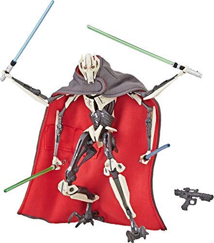 Hasbro Star Wars The Black Series 6 Inch Action Figure Deluxe - General Grievous