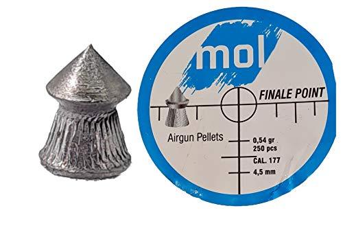 pallini carabina aria compressa 4.5 PALLINI PIOMBINI 4 5 4.5 MM PIOMBINI ARIA COMPRESSA A GAS CO2
