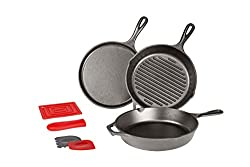 Lodge Cast Iron 7 Piece Set