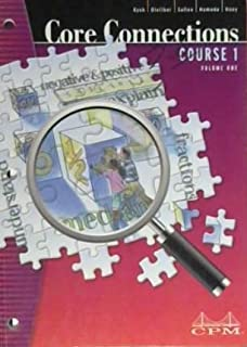 Core Connections Course 1 Volume One Second Edition, Version 5.0