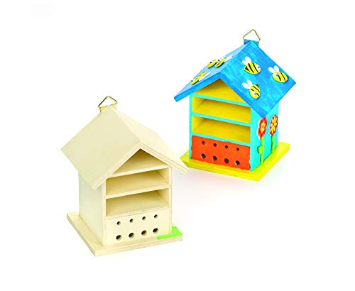 Baker Ross Ltd AF505 Bug Houses en Bois