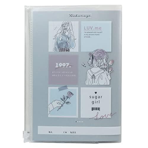 連絡帳[A5カバー付き れんらくノート]SUGAR GIRL カミオジャパン 新学期準備文具 かわいい グッズ 通販