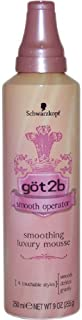 Got2b Smooth Operator Smoothing Luxury Mousse, 9-Ounce