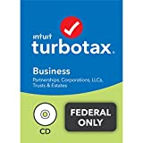 TurboTax Business 2021 Tax Software, Federal Tax Return Only with Federal E-file [PC Disc]
