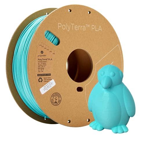 PolyTerra PLA Arctic Teal - 1.75mm - 1kg