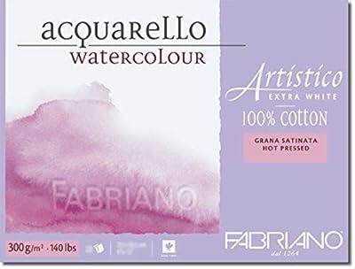 "ArtisticoWatercolor Block 5""x7"" 300gsm Hot Press 25 Sh"
