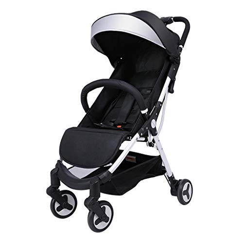 Sale!! TIAN Lightweight High Landscape Stroller, Foldable Awning Seat Belt Folding Pedal Brake Dampi...