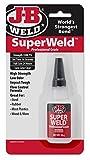 J-B Weld 33120H SuperWeld Glue - Clear Super Glue - 20g