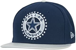 New Era Dallas Cowboys Leather Tag Fitted 59Fifty Cap