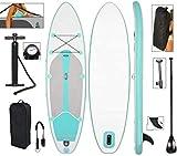 DIMPLEYA 305x76x15cm Soporte Inflable Barricada Tabla De Surf Sup Riega con Kit La Herramienta Supervivencia De Pala Pie Bomba