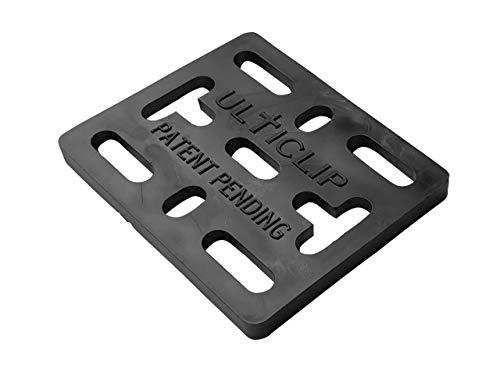 Ulticlip Ultiplate Plaque de montage polyvalente compatible avec toutes les versions des Ulticlips