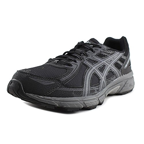 ASICS Men's Gel-Venture 6 Running Shoe, Black/Phantom/Mid Grey, 12 Medium US