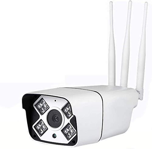 3G / 4G HD draadloze outdoor camera 1080P waterdicht home security surveillance met nachtzicht, SIM-kaart voor mobiele telefoon (kleur: wit), wit