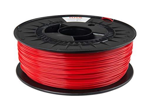 NuNus PLA Filament 1kg (rot, 1.75mm) *Premium Qualität für 3D Drucker MakerBot RepRap MakerGear Ultimaker uvm.