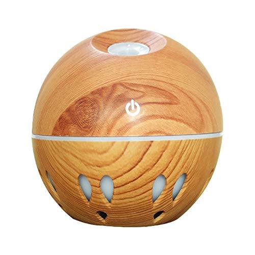 bobotron Humidificador purificador de aire térmico Le Humidificador Difusores con luces ultrasónicas para dormitorio A.