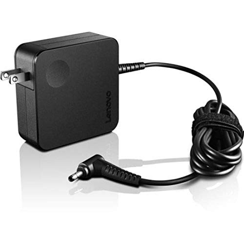 Lenovo 65W Computer Charger - Round Tip AC Wall Adapter (GX20L29355),black
