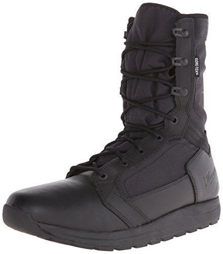 "Danner mens Tachyon 8"" Black Gtx-m hiking boots, Black, 8.5 Wide US"