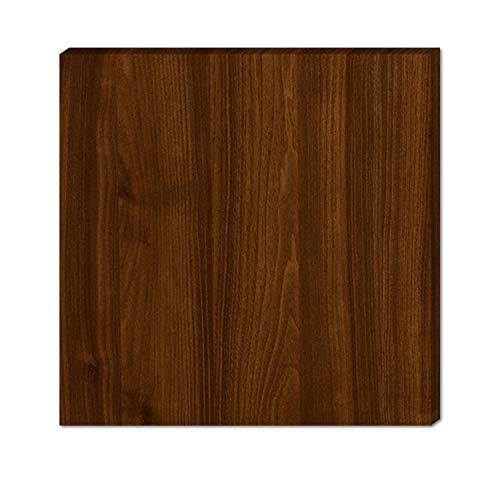 Stil.Zeit Farbmuster Möbel Fronten und Korpusse/Maß:10x20x1,5cm / Farbe Holz-Design Walnuss
