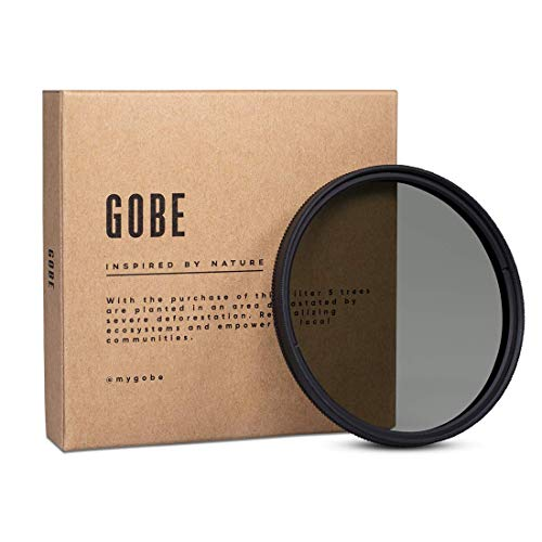 Gobe 58 mm Polfilter (Polarisationsfilter) CPL (2Peak)