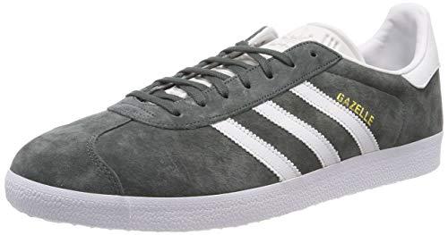 adidas Gazelle, Zapatillas de deporte para Hombre, Gris (Legend Ivy/Crystal White/Ftwr White), 37 1/3 EU