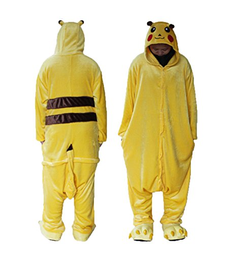 Lemonkid® Pijama unisex para adultos de moda de Halloween Cosplay con capucha Animal Mono