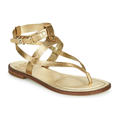 Michael Michael Kors Pearson Thong Sandals Women Gold - UK:2.5 - Sandals...