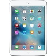Apple iPad Mini 2 Tablet - 128GB, Silver ME860LL/A - WiFi Only (Renewed)