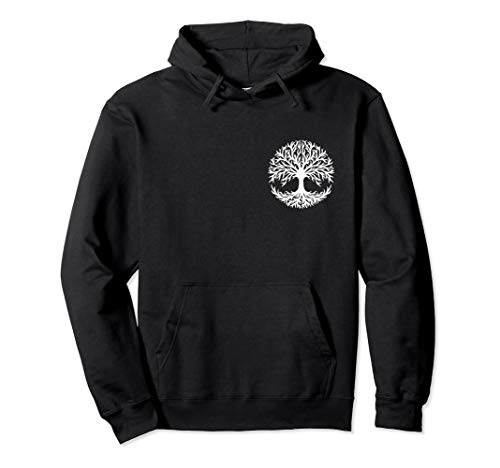Yggdrasil Celtic tree of life norse mythology nature forest Pullover Hoodie