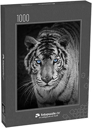 Puzzle 1000 Teile weißer Tiger - Klassische Puzzle, 1000/200/2000 Teile, in edler Motiv-Schachtel, Fotopuzzle-Kollektion 'Tiere'