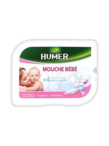 Humer Mouche Bébé + 4 Embouts Jetables
