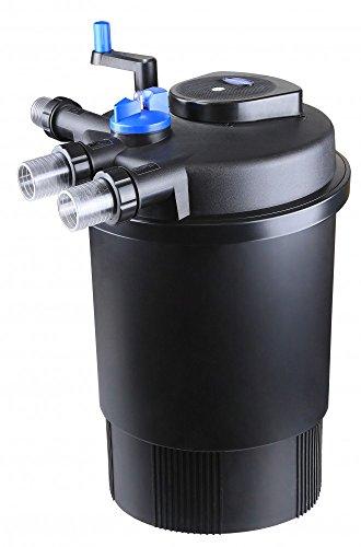 AquaOne CPF 30000 Bio Druckteichfilter 60000l Teichfilter Bachlauf inkl.55 Watt UVC Klärer Druckfilter Bachlauf UVC Lampe Klar