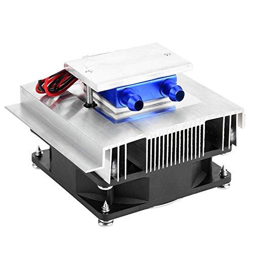 Tuneway Sistema de Enfriamiento de Enfriador TermoeléCtrico de Bricolaje Kit de Sistema de RefrigeracióN de Semiconductores Disipador de Calor Enfriador Peltier para Agua 15L