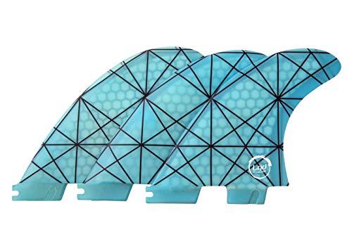 Liquida FCS 2 Honeycomb - Aletas de fibra de vidrio (G5), azul