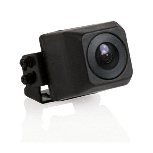 Caratec Safety CS100MELA Miniatuurcamera met kabel en adapter 160 ° kijkhoek, achteruitrijcamera, ideaal voor campers en caravans