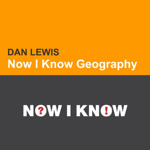 Now I Know Geography audiobook cover art
