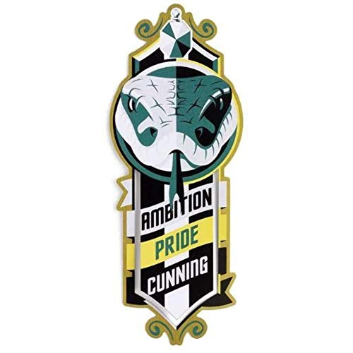 The Carat Shop, Schreibwaren - Bookmark, Lesezeichen, Harry Potter Casa Slytherin, 12 x 4 cm
