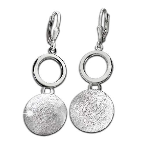 SilberDream Pendientes para mujer de plata de ley 925 SDO4397O