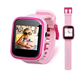 Vakzovy Kids Smart Watch Girls, Gifts for 3-10 Year Old Girls Dual Camera Touchscreen Smart Watch for Kids with Music Player, Educational Toys Toddles Birthday Gift for Girls Ages 6 7 8
