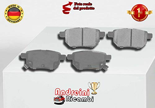 1.4 vvt-i//1.6 vvt-i-endschalldämpfer sistema de escape Toyota Corolla set
